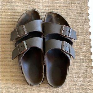 Birkenstock's Arizona Brown Tan Leather size 38